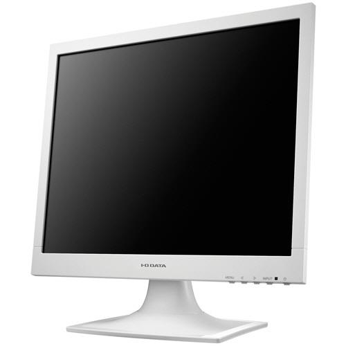 アイオーデータ フリッカーレス設計採用 17型スクエア液晶ディスプレイ ホワイト 5年保証 LCD-AD173SESW 1台