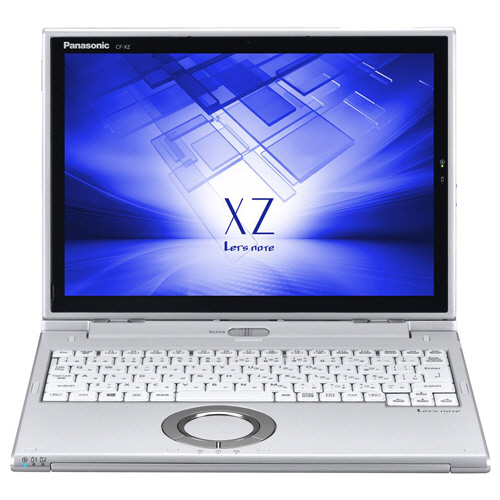 パナソニック Lets note XZ6 12.0型 Core i5-7200U 2.50GHz 256GB(SSD) シルバー CF-XZ6HDBQR 1台