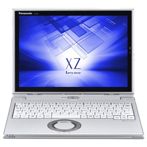 パナソニック Lets note XZ6 12.0型 Core i5-7200U 2.50GHz 128GB(SSD) シルバー CF-XZ6HDAPR 1台