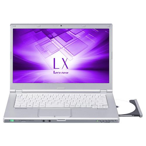 パナソニック Lets note LX6 14.0型 Core i5-7200U 2.50GHz 1TB シルバー CF-LX6HDAQR 1台