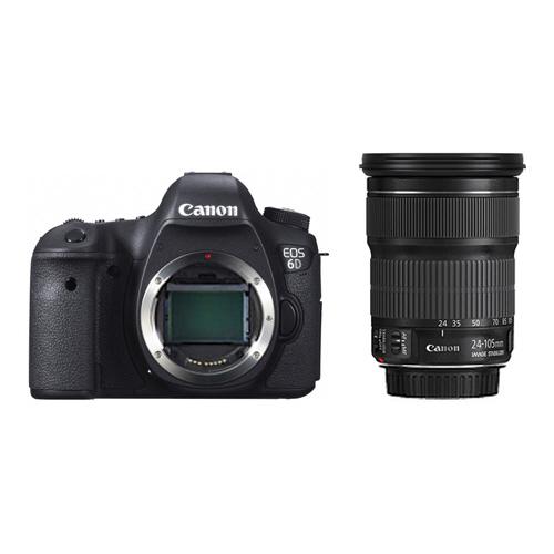 キヤノン デジタル一眼レフカメラ EOS 6D(WG)・EF24-105 IS STM レンズキット 8035B197 1台