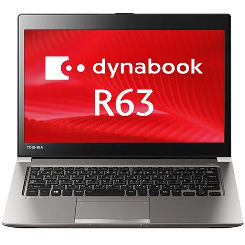東芝 dynabook R63A 13.3型 Core i5-6300U 2.4GHz 128(SSD) PR63ABAA537AD11 1台