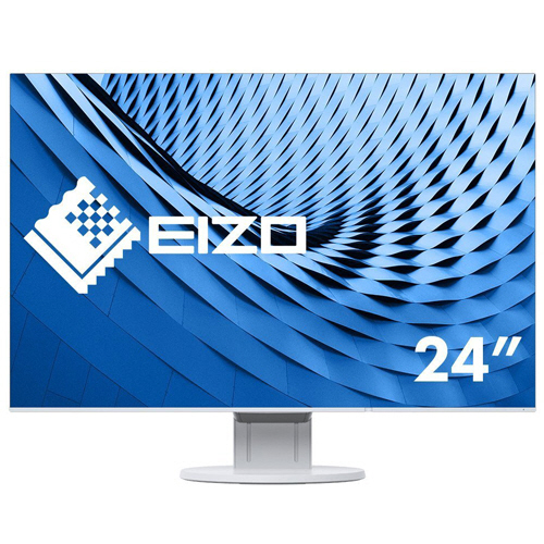 EIZO FlexScan 24.1型 カラー液晶モニター ホワイト EV2456-WT 1台