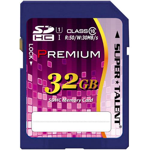 スーパータレント UHS-I対応SDHCメモリーカード CLASS10 32GB ST32SU1P 1枚