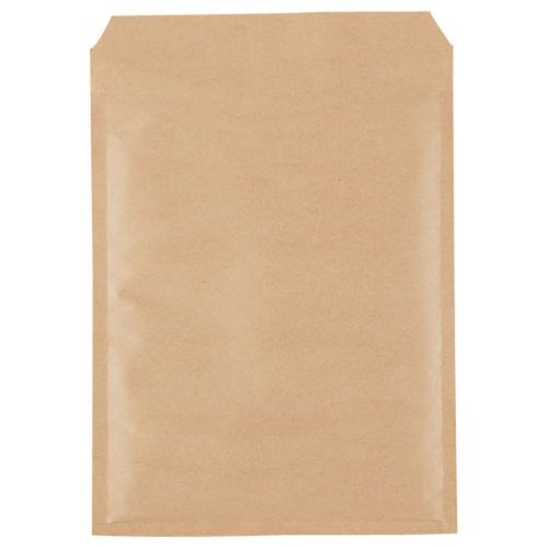 TANOSEE クッション封筒エコノミー CD2枚組用 内寸210×270mm 茶 1パック(150枚)