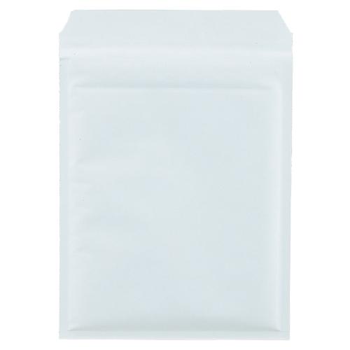 TANOSEE クッション封筒エコノミー CD2枚組用 内寸210×270mm ホワイト 1パック(150枚)
