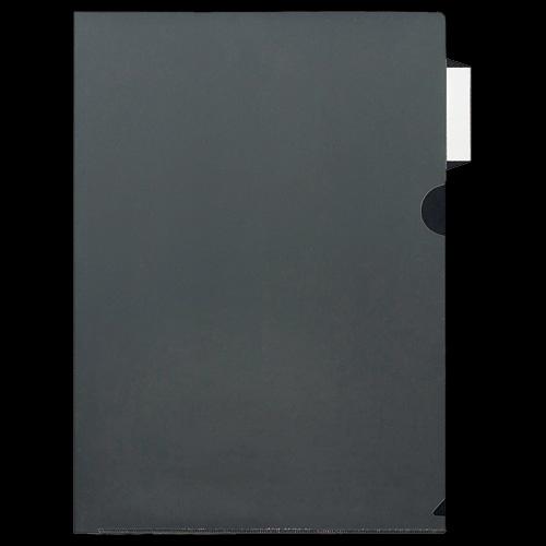 ニックス インデックス付クリアホルダー A4 サイドインデックス付 MS-ICH-SA4 1パック(10枚)