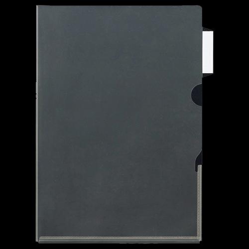 ニックス インデックス付クリアホルダー A4 サイドインデックスマチ付 MS-ICH-MA4 1パック(10枚)