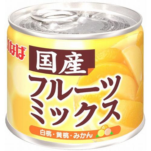 いなば食品 国産フルーツミックス 205g 1缶