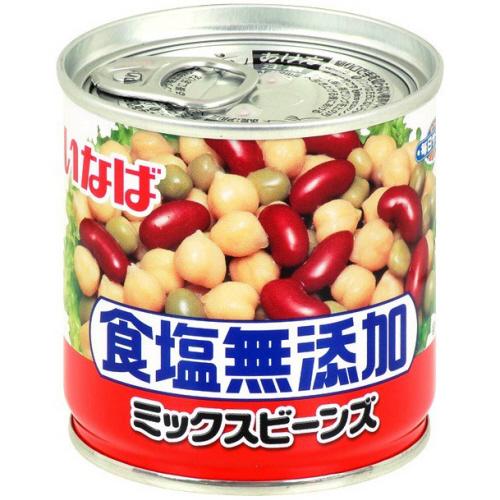 いなば食品 毎日サラダ ミックスビーンズ 食塩無添加 110g 1缶