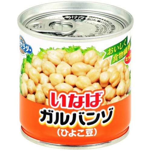 いなば食品 毎日サラダ ガルバンゾ 100g 1缶