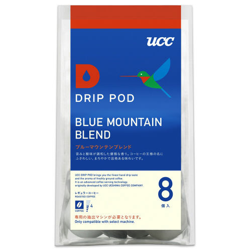 UCC DRIP POD(ドリップポッド) ブルーマウンテンブレンド 7.5g/個 1箱(8個)