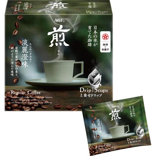 AGF 煎(せん) 上乗せドリップコーヒー 淡麗澄味 10g 1箱(5袋)