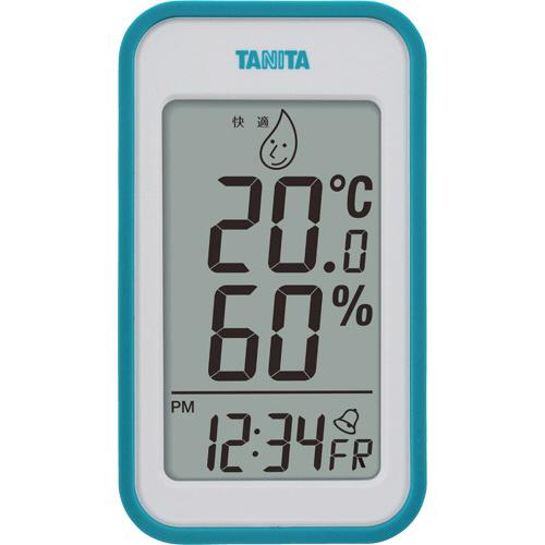 タニタ デジタル温湿度計 ブルー TT559BL 1個