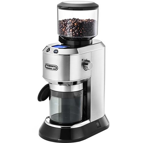デロンギ デディカコーン式コーヒーグラインダー メタルシルバー KG521J-M 1台