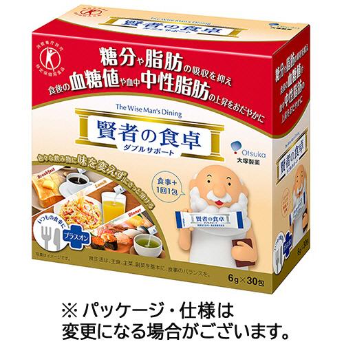 大塚製薬 賢者の食卓 ダブルサポート 6g/包 1箱(30包)