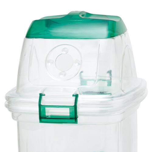 積水テクノ成型 透明エコダスター 共通フタ ペットボトルキャップ用グリーン TPFC4G 1個
