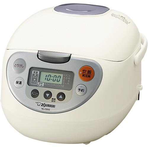 象印 マイコン炊飯ジャー 極め炊き 1升炊き ホワイト NL-CS18-WA 1台