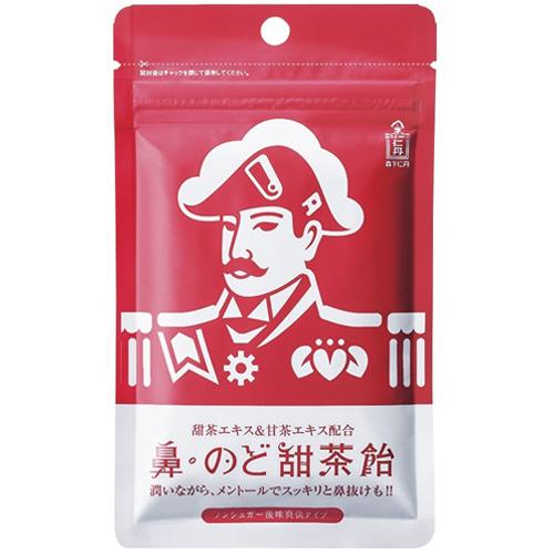 森下仁丹 鼻・のど甜茶飴 38g 1パック