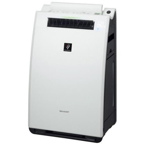 シャープ プラズマクラスター加湿空気清浄機 ホワイト系 KI-FX55-W 1台