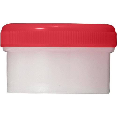 診療化成 SK軟膏容器 B型 24ml 赤 207831 1セット(200個)