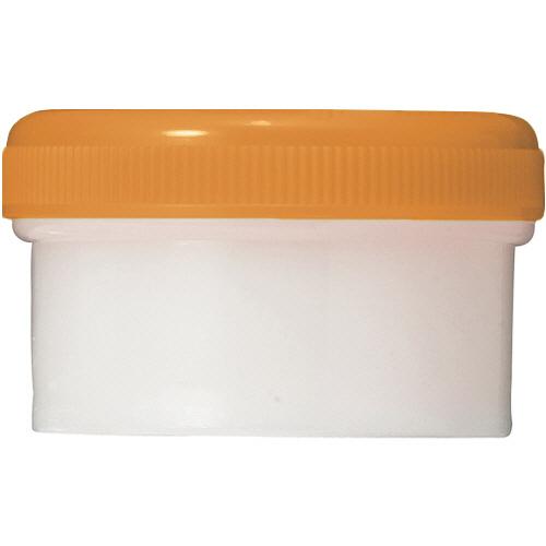 診療化成 SK軟膏容器 B型 24ml オレンジ 307830 1セット(200個)