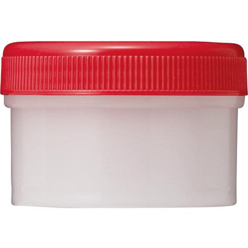 診療化成 SK軟膏容器 B型 60ml 赤 207851 1セット(100個)