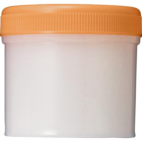 診療化成 SK軟膏容器 B型 120ml オレンジ 307860 1セット(100個)