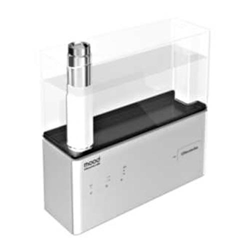 ドウシシャ mood クレベリンLED搭載 超音波式加湿器 シルバー KMWQ-301C(SI) 1台