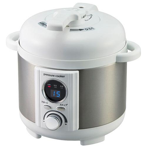 アルファックス・コイズミ アルコレ ミニ電気圧力鍋 ホワイト LPC-T12/W 1台