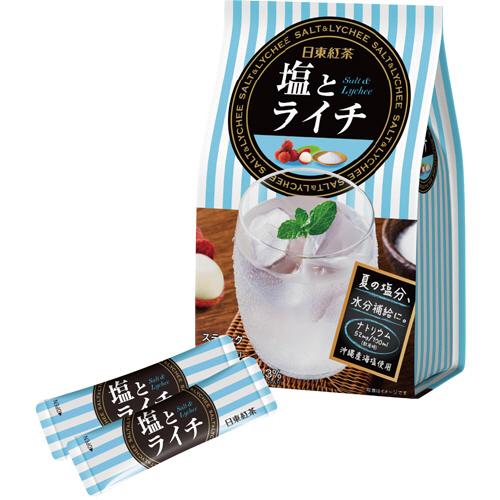 日東紅茶 塩とライチ 1パック(10本)