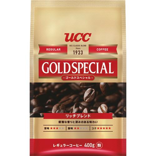 UCC ゴールドスペシャル リッチブレンド 400g(粉) 1袋