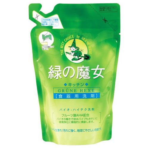 ミマスクリーンケア 緑の魔女 キッチン(食器用洗剤) 詰替用 360ml 1個