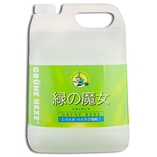 ミマスクリーンケア 緑の魔女 キッチン(食器用洗剤) 業務用 5L 1本