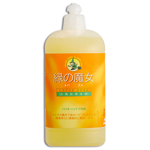 ミマスクリーンケア 緑の魔女 バス(お風呂用洗剤) 420ml 1本