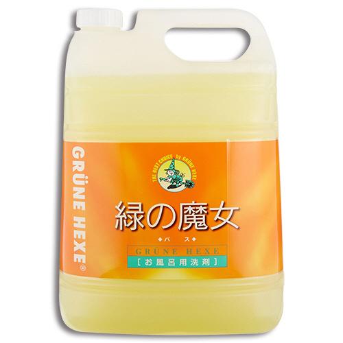 ミマスクリーンケア 緑の魔女 バス(お風呂用洗剤) 業務用 5L 1本