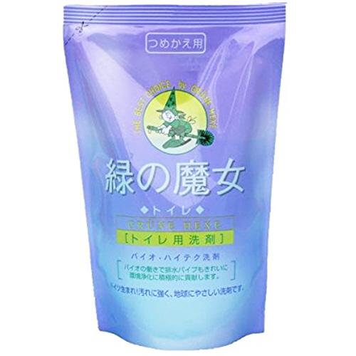 ミマスクリーンケア 緑の魔女 トイレ(トイレ用洗剤) 詰替用 360ml 1個