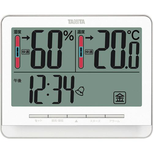 タニタ 温湿度計 ホワイト TT-538WH 1個