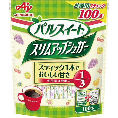 味の素 スリムアップシュガー スティック 1.6g 1パック(100本)