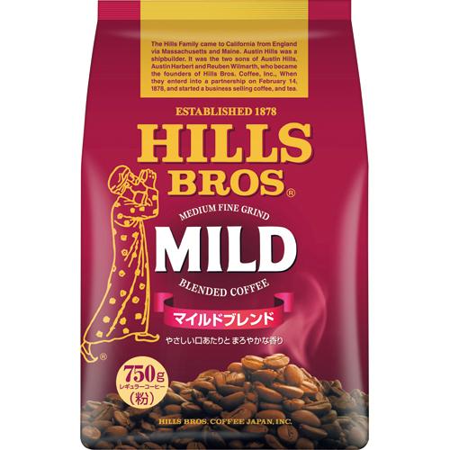 ヒルスコーヒー マイルドブレンド レギュラー 750g(粉) 1袋