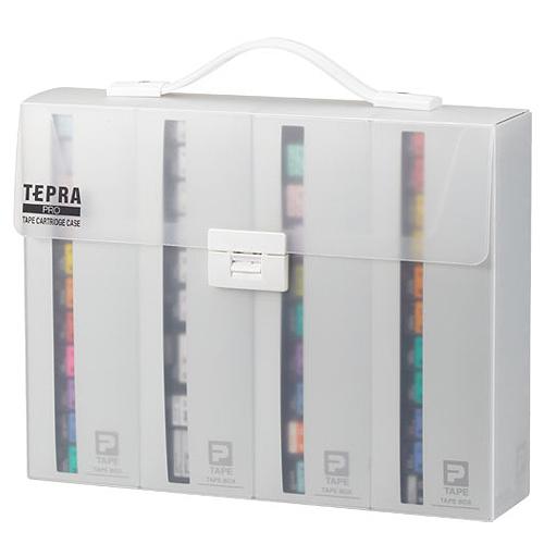 キングジム テプラ PRO テープカートリッジケース 約W317×D70×H245mm SR4TH 1個