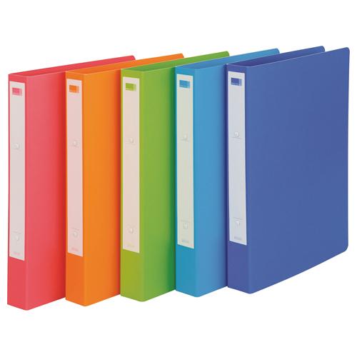 ビュートン リングファイル e.s. A4タテ 2穴 200枚収容 背幅36mm ピンク ESR-A4-P 1冊