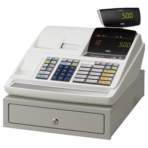 東芝テック 電子レジスター ShallotII MA-500シリーズ 10部門タイプ ホワイト 22103126 1台