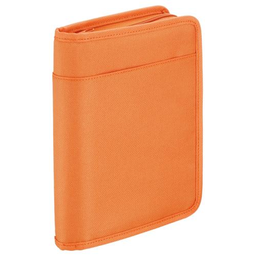 キングジム スキットマン 通帳&カード収納ケース A5 オレンジ 2360 1個