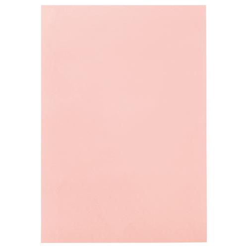 TANOSEE 色画用紙 四つ切 うすもも 1パック(10枚)