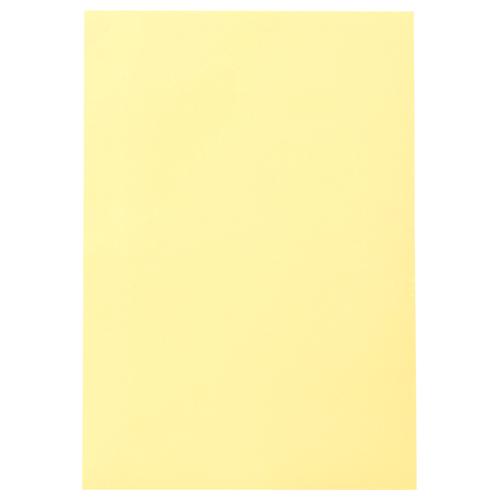 TANOSEE 色画用紙 四つ切 クリーム 1パック(10枚)