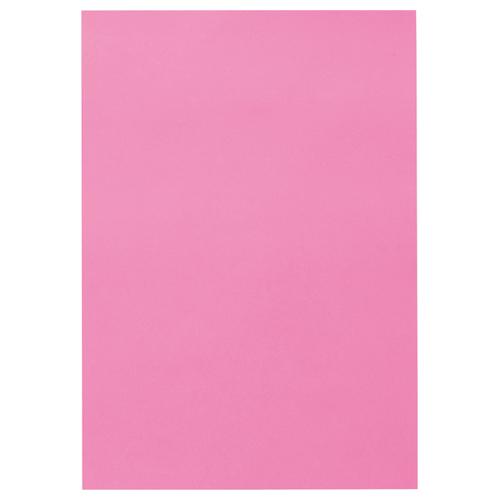 TANOSEE 色画用紙 四つ切 こいもも 1パック(10枚)