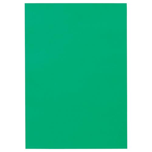 TANOSEE 色画用紙 四つ切 みどり 1パック(10枚)