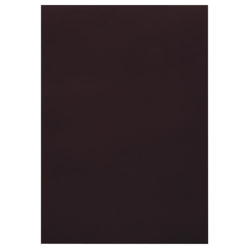 TANOSEE 色画用紙 四つ切 くろ 1パック(10枚)