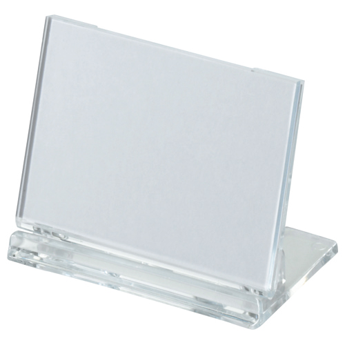 光 カード立て 可動式 W65×H45mm 透明 UC3-1 1個